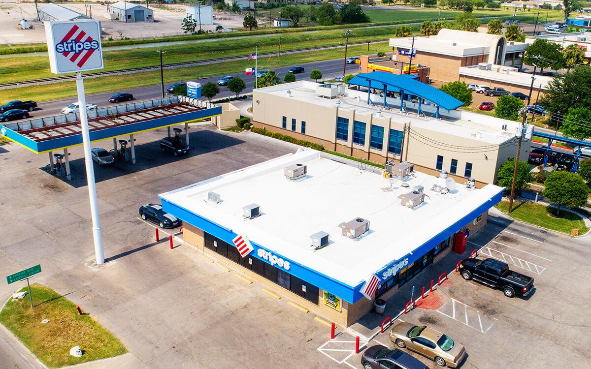 Commercial PVC Roof Durolast Durotuff Membrane Installation - San Antonio, TX - 04