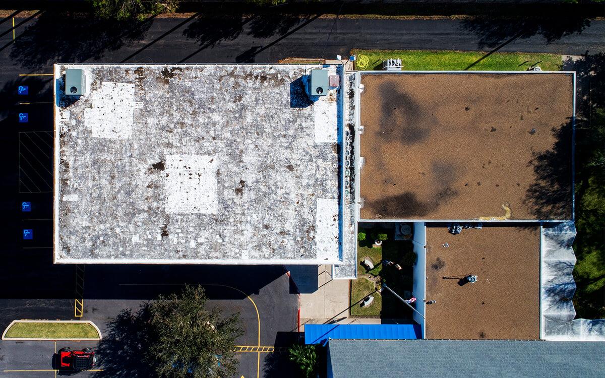 Commercial PVC Roof Durolast Durotuff Membrane Installation - San Antonio, TX - 05