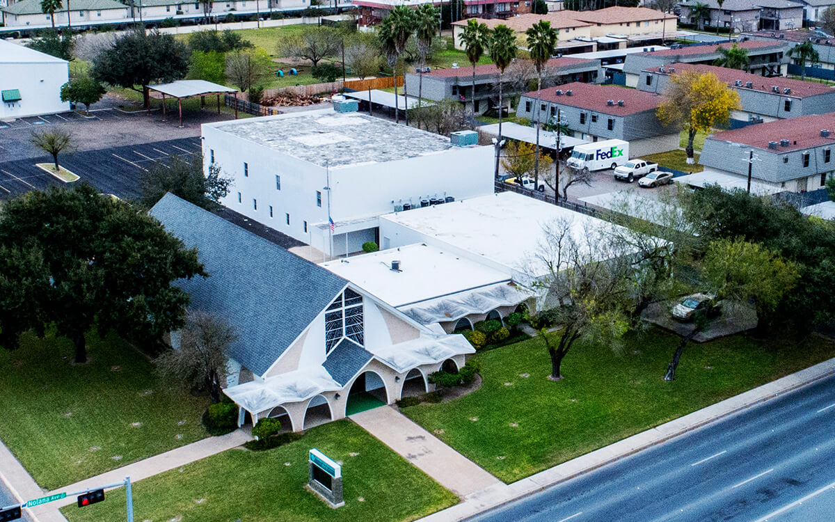 Commercial PVC Roof Durolast Durotuff Membrane Installation - San Antonio, TX - 07