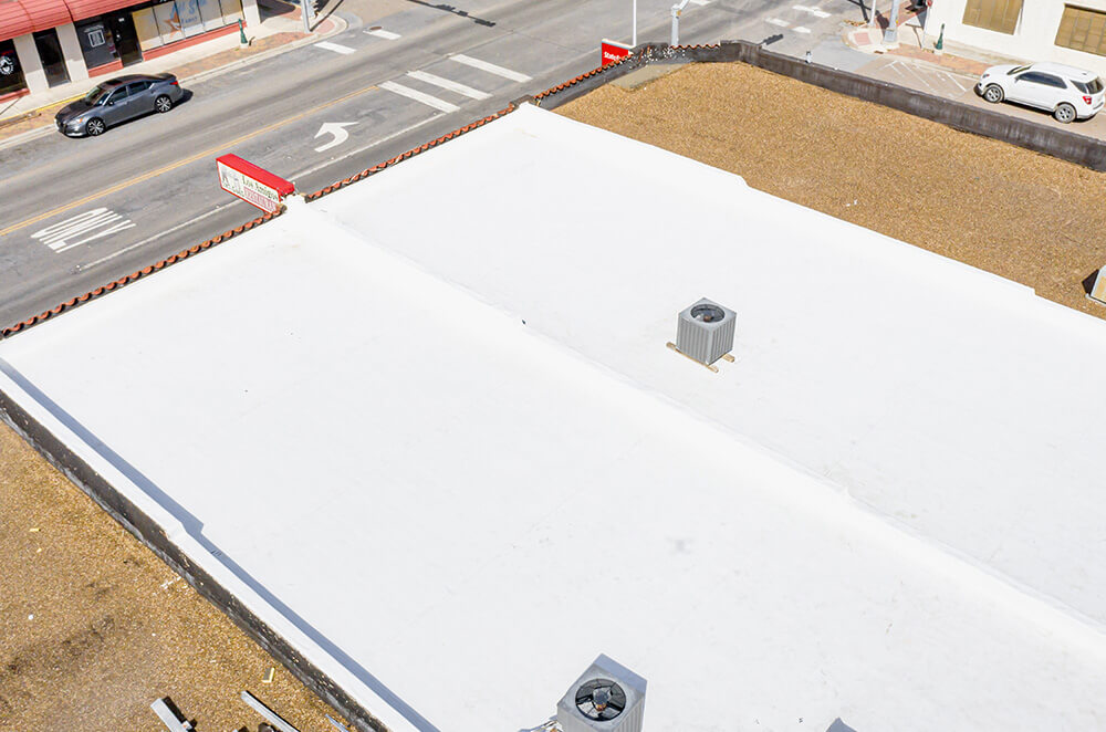 Mexican Restaurant - GAF EverGuard Commercial TPO Installation - McAllen Valley Roofing - 005