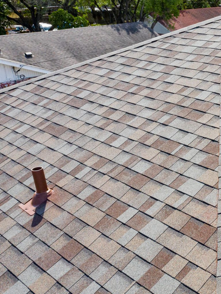 Residential shingle roof replacement and installation by McAllen Valley Roofing - Helotes, TX - after 003